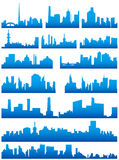 City skyline Stock Image