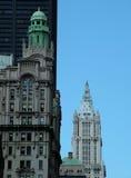 City Skyline. Urban Living: Skylines and apartments Stock Photo
