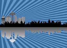 City skyline Stock Photos