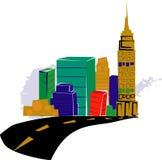 city skyline ελεύθερη απεικόνιση δικαιώματος