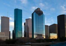 City skyline against cloudy sky Stock Photography