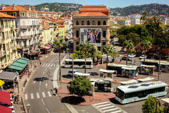 City skyline in Cannes, Royalty Free Stock Photo