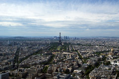 The city skyline at daytime. Paris, France Stock Images
