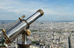 The city skyline at daytime. Paris, France Royalty Free Stock Photos