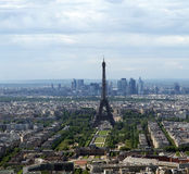 City skyline at daytime. Paris, France Royalty Free Stock Photo