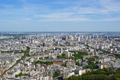 The city skyline at daytime. Paris, France. Stock Photos
