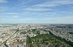 The city skyline at daytime. Paris, France Royalty Free Stock Images
