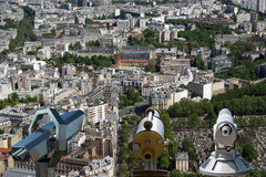 The city skyline at daytime. Paris, France Royalty Free Stock Photography