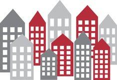 City skyline header or banner Royalty Free Stock Image
