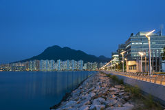 City skyline, Hong Kong Royalty Free Stock Photography