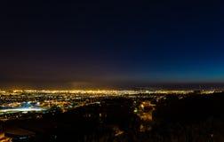 City Skyline Night Stock Images