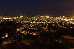 City Skyline Night Stock Image