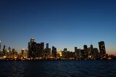 City Skyline during Nighttime Stock Photo