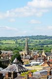 City skyline, Oxford. Royalty Free Stock Photo