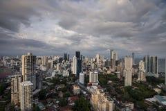 City skyline at Panama City Royalty Free Stock Photos