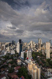 City skyline at Panama City Stock Photo