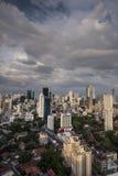 City skyline at Panama City Stock Photo