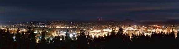 City Skyline Panorama Stock Photography