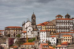 City Skyline of Porto in Portugal Royalty Free Stock Photography