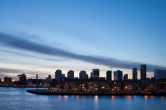 City Skyline of Rotterdam Stock Photos