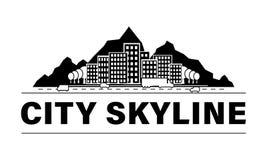 City skyline set. stock illustration