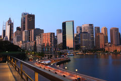City skyline of Sydney, Australia. Stock Images