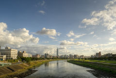 City skyline in Taipei Royalty Free Stock Image