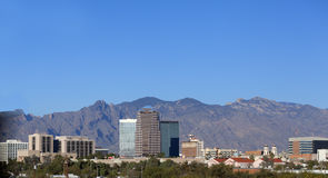 City skyline, Tucson, AZ Stock Image
