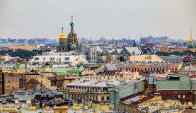 Free City Skyline With The Church Of Savior On Spilled Blood From The Roof Of Saint Isaac& X27;s Cathedral In Saint Petersburg, Russia Royalty Free Stock Photos - 145071158
