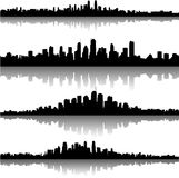 City skylines Stock Images