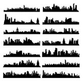 City Skylines Royalty Free Stock Photo
