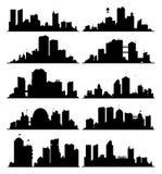City Skylines Stock Photo