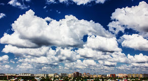 City skyscape Royalty Free Stock Image
