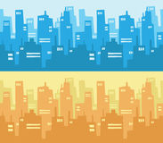 City Skyscraper Silhouette Background Royalty Free Stock Photo