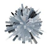 City skyscraper sphere Stock Photography