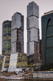 City skyscrapers Stock Image
