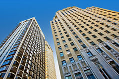 City Skyscrapers Royalty Free Stock Photography
