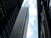 City Skyscrapers Stock Photography