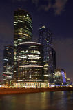 City skyscrapers in Moscow Stock Image