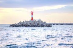 City Sochi. Lighthouse stock photos