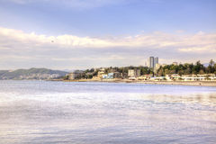 City of Sochi. View from the sea Stock Photography