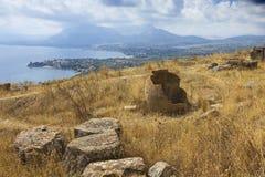 City of Solunto, Palermo, Italy Royalty Free Stock Photos