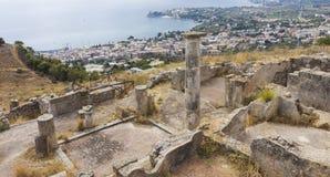 City of Solunto, Palermo, Italy Stock Image