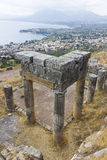 City of Solunto, Palermo, Italy. View of the City of Solunto, near Palermo, Italy Stock Photos