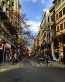 City of Spain, Valencia. The beautiful old city photo of Spain, Valencia Stock Photos