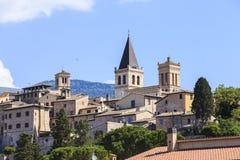 City of Spello in Umbria, Italy Stock Image
