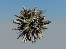 City sphere Stock Images