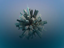 City sphere Stock Photography
