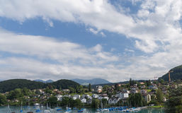 City of Spiez. Swiss Stock Photography