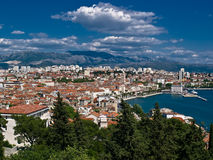 City - Split Stock Image